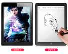 Business in the front: Janus Android tablet has E Ink on one side, color LCD on the other