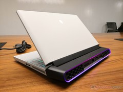 Alienware Area-51m is a 17-inch laptop with removable GeForce RTX graphics card and an LGA 1151 socket (Source: Dell)