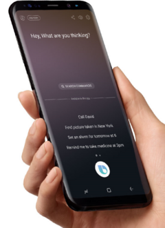 Bixby is going to be in every Samsung product by 2020. (Source: Samsung)
