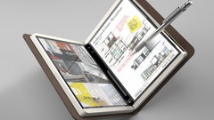 The Microsoft foldable Courier Booklet PC concept from 2008. (Source: Microsoft)