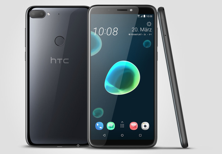 The HTC Desire 12 Plus has a six-inch display.