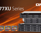 QNAP TS-x77XU rackmount NAS now official with AMD Ryzen inside (Source: QNAP Systems)