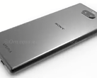 A render of the Sony Xperia XA3 Ultra shows a rear dual-camera setup. (Source: OnLeaks/MySmartPrice)