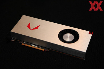 The Limited Edition is air cooled and closely resembles the Vega reference card. (Source: HardwareLuxx)
