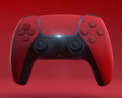 The red variant of the DualSense controller is striking. (Image source: Snoreyn/YouTube)