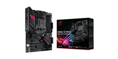 The ROG Strix B550-F Gaming motherboard. (Source: Asus)