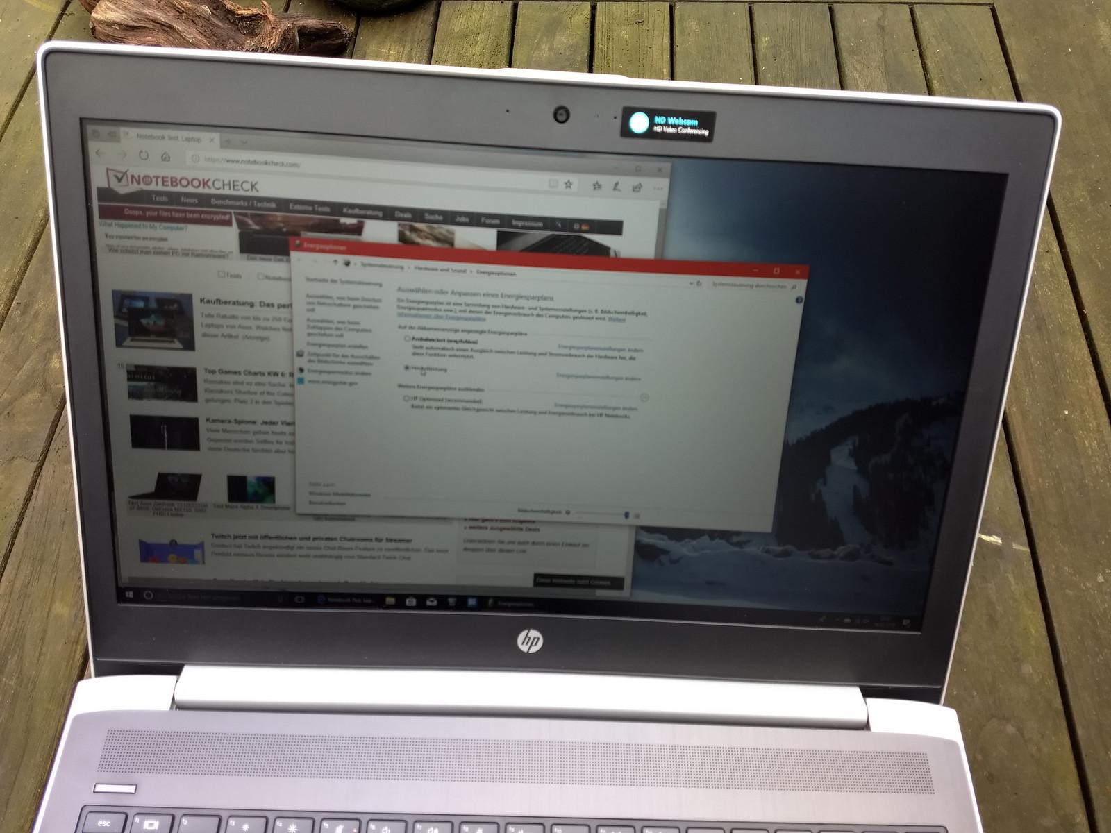 HP ProBook 450 G5 (i5-8250U, FHD) Laptop Review - NotebookCheck net