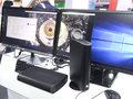 The EM-B13KG mini PCs are able to handle up to 4 monitors. (Source: Notebook Italia)