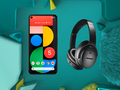 Google is giving away £259.95 headphones with Pixel 5 and Pixel 4a (5G) pre-orders. (Image source: EE)