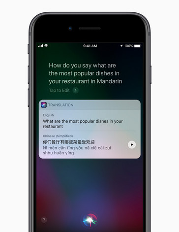Siri gets new voices on iPhone 8 (Source: Apple)