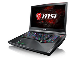MSI GT75VR 7RF Titan Pro, review sample courtesy of MSI Germany.