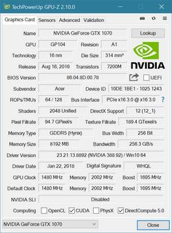 Acer Predator Helios 500 (GTX 1070, i9-8950HK) Laptop Review