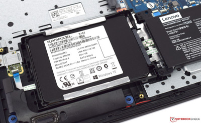 256-GB SSD when inserted
