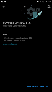 OnePlus 5 software