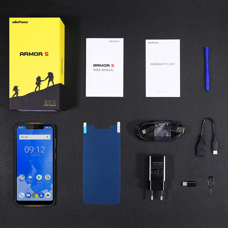 Ulefone Armor 5 - accessories