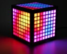 The LumiCube has 192 LEDs, an IPS display and multiple sensors. (Image source: Abstract Foundry)