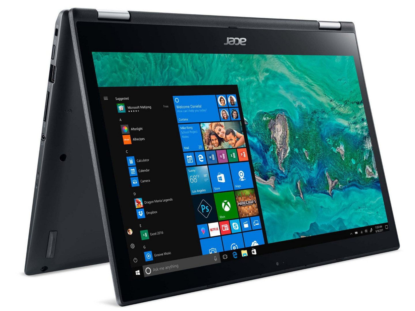 Acer Spin 3 SP314-51 (i5-8250U, SSD, FHD) Convertible Review