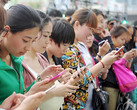 Chinese smartphone users (Source: The South China Morning Post)