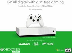 Xbox One S All-Digital Edition now up for pre-order (Source: Xbox Wire)