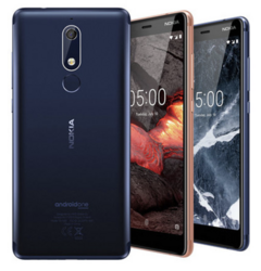The Nokia 2.1, 3.1 and 5.1 are official. (Source: HMD)