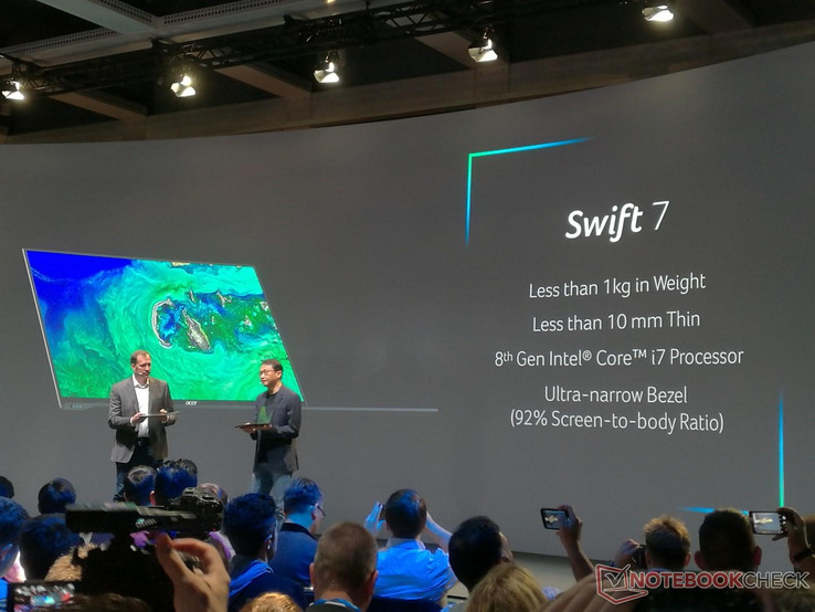 The upcoming Swift 7 will sport a 92% screen-to-body ratio.