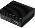 ASRock's iBOX-R1000 is the first mini PC to integrate AMD's Ryzen R1000-series embedded CPUs. (Source: ASRock)