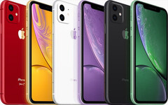 Renders showing the 2019 budget iPhone based on the latest leaks. (Source: MacOtakara)