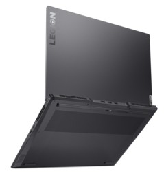 Lenovo Legion Slim 7i - Rear. (Image Source: Lenovo)