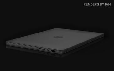 MacBook Pro 14 concept. (Image source: @RendersbyIan)