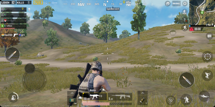 PUBG Mobile is no fun on the GS185