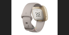 "The new ""Fitbit Sense"". (Source: WinFuture)"