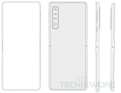 The alleged Huawei patent's images. (Source: Techie Word)