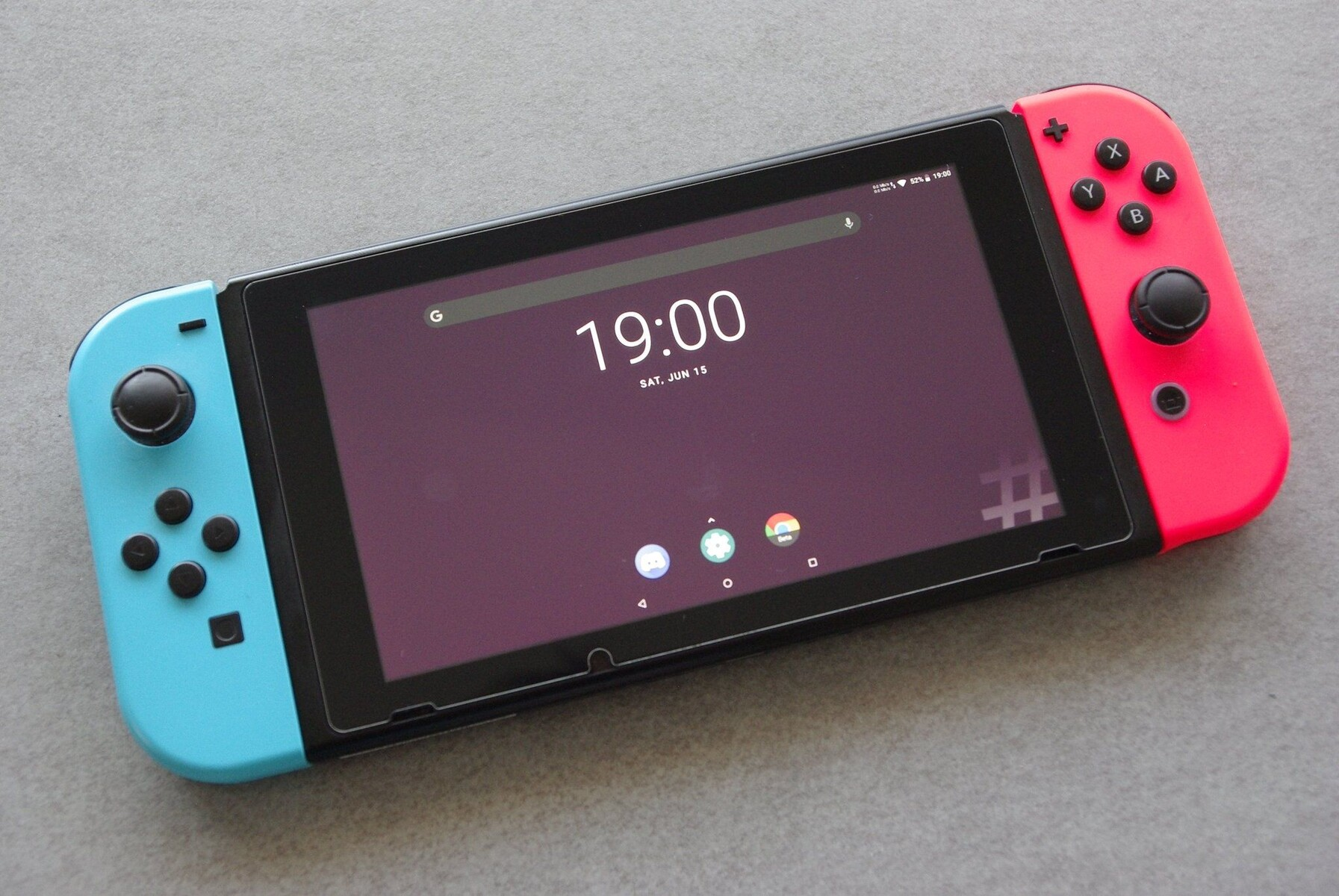 Android Is Now Unofficially On Nintendo Switch, And It Looks Great