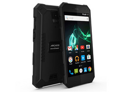 In review: Archos 50 Saphir. Test model courtesy of Archos Germany.