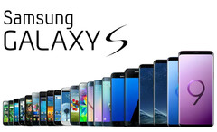 The Samsung Galaxy S series from the original to the S9 models. (Source: DroidMag)