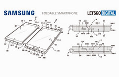 Samsung patent describes a double-display smartphone (Source: Letsgodigital)