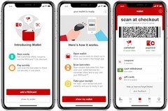 Target Wallet mobile payment system in action (Source: TechCrunch)