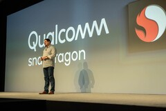 Qualcomm's president, Cristiano Amon, at last year's Snapdragon Tech Summit. (Source: Qualcomm)