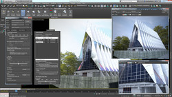 Autodesk 3D Studio Max is a highly GPU-intensive application. (Source: JFL Media)