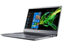 The Acer Swift 3 SF314-41-R8HZ laptop review. Test device courtesy of Acer Germany.