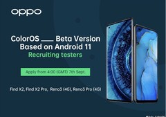 Oppo recently announced beta testing for a new version of ColorOS (Image source: @UniverseIce)