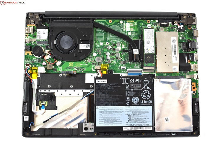 View of the internals of the Lenovo V330-14IKB