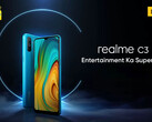 The Realme C3 has launched in India. (Source: Realme)