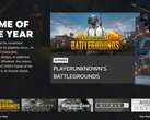 PUBG got the Game of the Year Award from Steam (Source: Own)