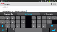 Swiftkey for Android app gets updated with 9 new languages