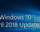 Windows 10 1803 remains the most popular build of the OS. (Source: Microsoft)