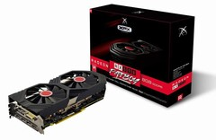 The XFX Radeon RX 590 Fatboy graphics card utilizes XFX's true clock technology. (Image source: Amazon)