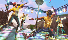 Fortnite - Disco Domination mode and quad rocket launcher now available as of mid-October 2018 (Source: Wccftech)
