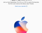 Apple's Special Event keynote will be live on September 12, 10 am PDT. (Source: Apple)
