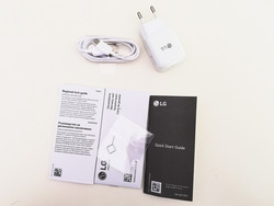 LG Q7 Plus box contents